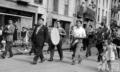 1951. herriko musikaren banda hasiera. Durana kalean