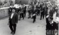 1951, herriko musika banda, eskola aurrean